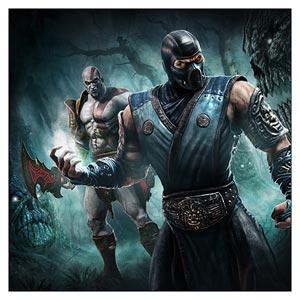 Неформатный постер Mortal Kombat / Смертельная схватка